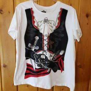 ➕ Halloween Pirate T-shirt